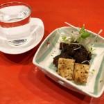 氷見牛すじ豆腐と富山の地酒三種飲み比べセット